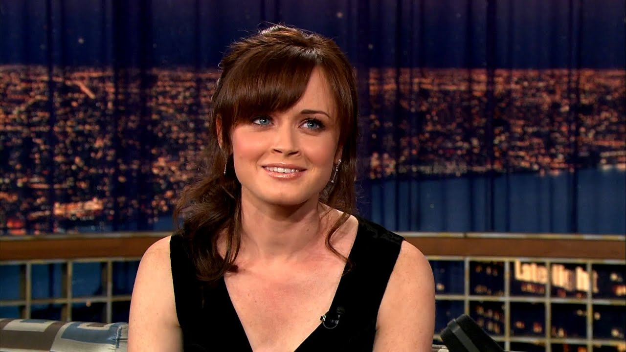 Alexis Bledel Thinks Wendy's Has The Best Chicken Nuggets   Late Night with Conan O'Brien