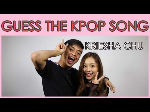 Guess that KPOP Song Challenge | Jonald Helito, Kriesha Chu