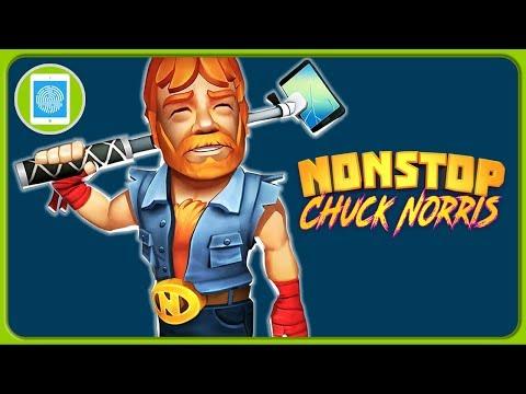 Чак Норрис спасает Вселенные в экшен игре Nonstop Chuck Norris от Flaregames * IOS | Android