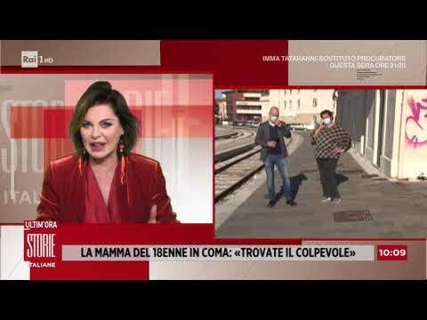 Lanciano, 18enne in coma: parla la madre del ragazzo aggredito - Storie Italiane 20/10/2020