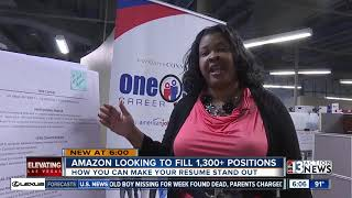 Amazon in North Las Vegas to fill 1,300+ positions