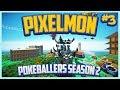 Pixelmon Server Pokeballers Adventure Season 2 Episode 3 - Vertigo City Gym, The Flying Gym