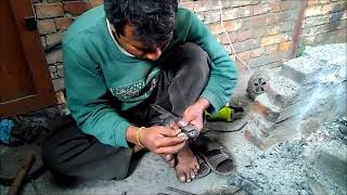Making legendary Service khukuri/Kukri of British Gurkhas- KHHI nepal
