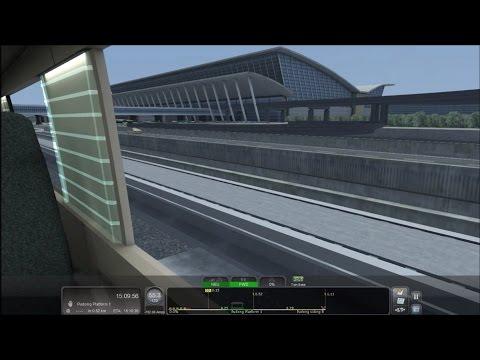 Train Simulator 2016 HD: Riding Shanghai Maglev Transrapid Round Trip [Passenger View] 430 km/h