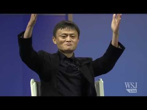 Jack Ma speaks at WSJD