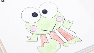 Easily Draw Keroppi of Sanrio - DIY Crafts - Guidecentral