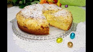 «Бабушкин яблочный пирог» с пудингом крошкой. Вкус нашего детства.