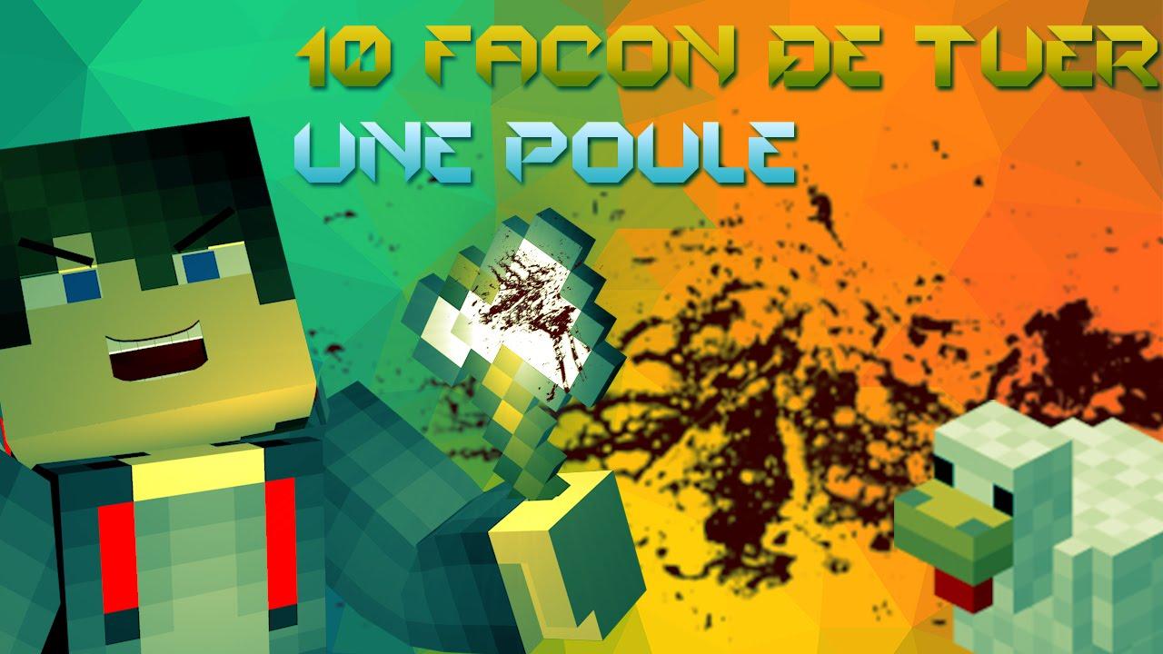 10 fa on de tuer une poule sur minecraft youtube - Poule minecraft ...