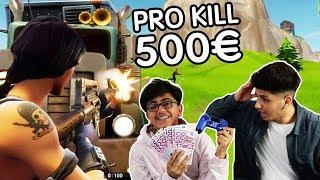 MEIN KLEINER BRUDER BEKOMMT FÜR JEDEN KILL 500€!!! (FORTNITE BATTLE ROAYALE) | SKK