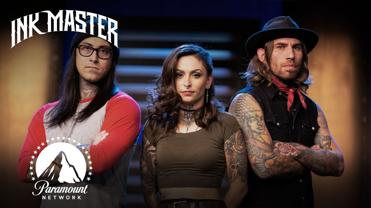 Ink Master Christmas Special 2020 Master Canvas Reveal | Ink Master: Turf War   YouTube