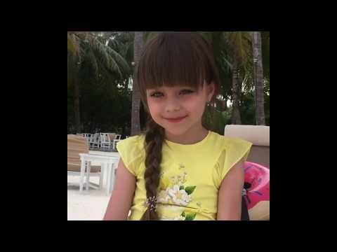 Самая красивая девочка в мире Aнастасия Князева-поцелованная Богом