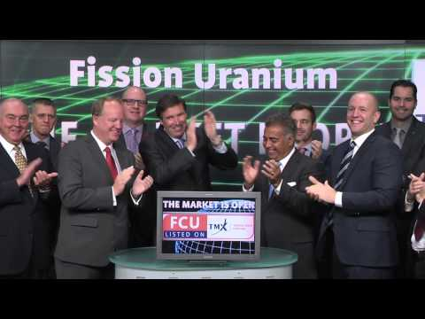 Fission Uranium Corp. (FCU:TSX) opens Toronto Stock Exchange, October 30, 2014.