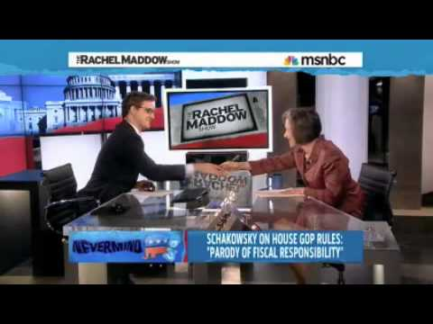 Rep. Jan Schakowsky Spills Coffee on MSNBC
