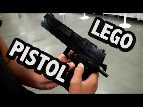 LEGO Desert Eagle Pistol | BrickFair Virginia 2016 streaming vf