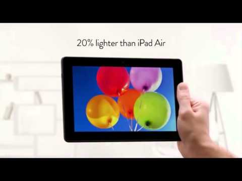 Amazon Mock's iPad Air In New Kindle Fire HDX 8.9 Commercial !