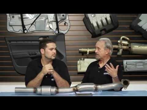 BuzzKen VW MK4 Downpipe Install DIY