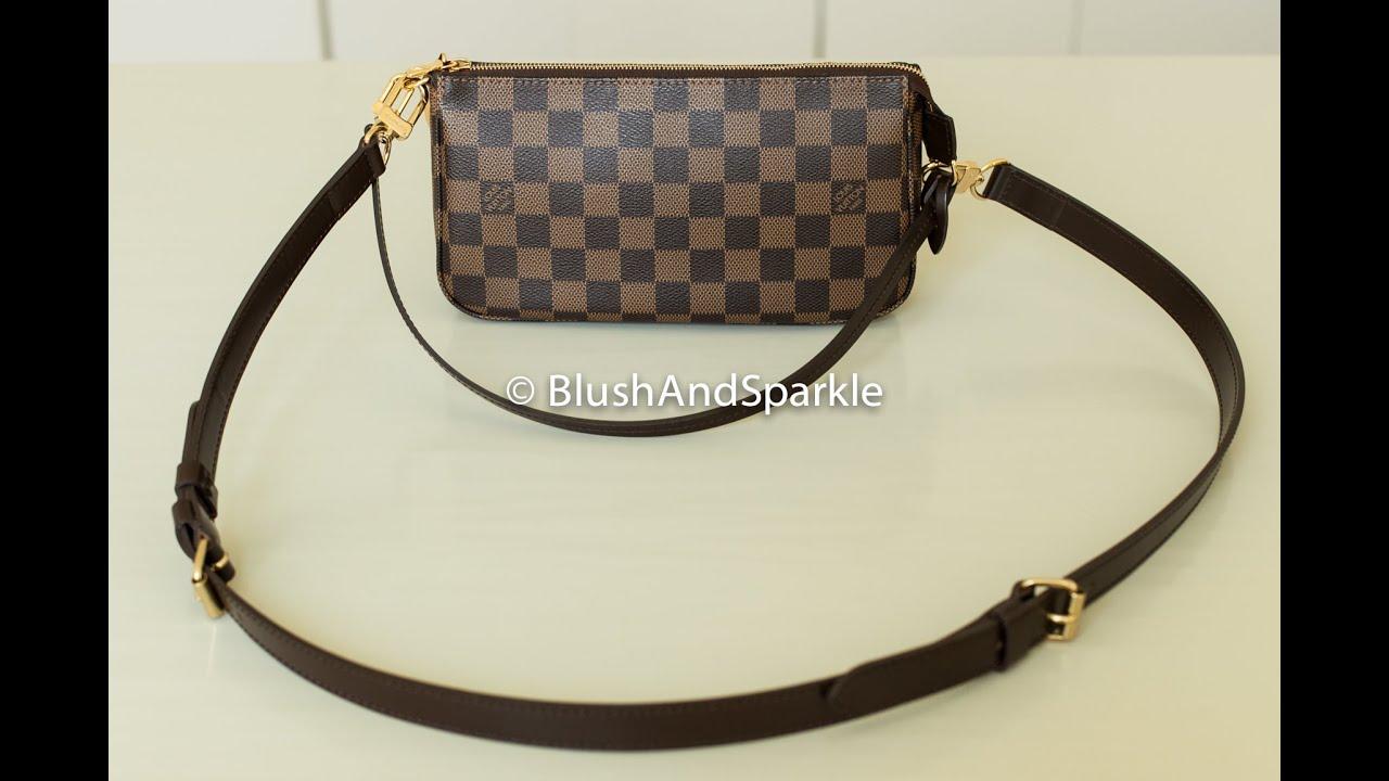 00de51b5e2 Louis Vuitton Pochette with Bandouliere Strap