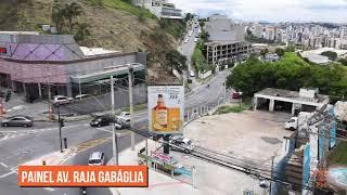 Painel Digital  | Av. Raja Gabalia / Barão Homem de Melo