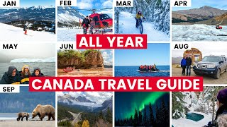 12 Fun THINGS TO DO IN CANADA For Each Month of the Year!