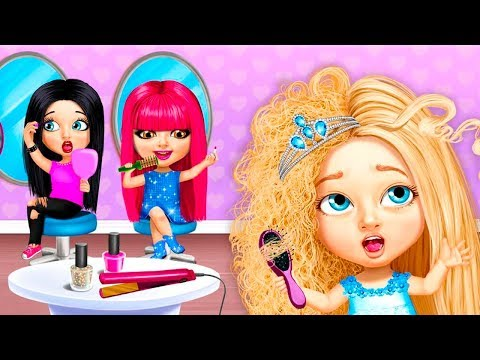 Салон Красоты Милые Крошки.Модные Прически.Мультяшная Красота.Игры для Девочек
