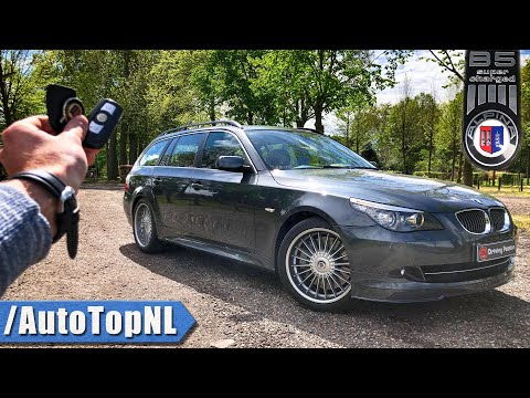 ALPINA B5 S Touring E61 REVIEW POV Test Drive By AutoTopNL