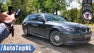 ALPINA B5 S Touring E61 REVIEW POV Test Drive by AutoTopNL