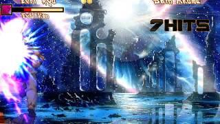Evil Ryu & Evil Ken Vs Shin Akuma (REQUEST)