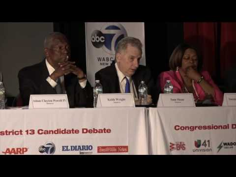 Sam Sloan For Congress 2016 - WBLS Town Hall Congressional Debate 2016