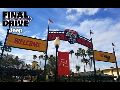 Final Drive: 2018 Pro Bowl Week Gets Started