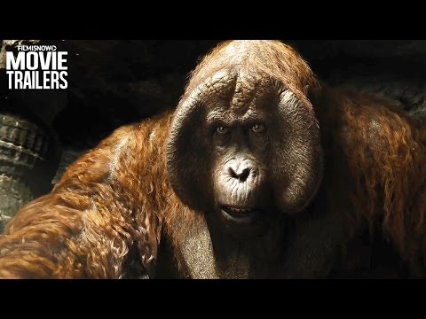 Mowgli meets Meets King Louie in a NEW Clip from Disney's THE JUNGLE BOOK [HD]