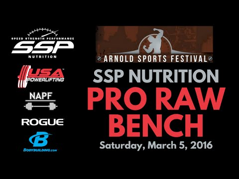 SSP Nutrition Pro Raw Bench