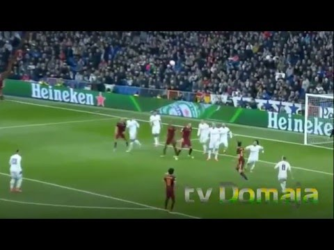 Real Madrid vs Roma 2-0 Extended Highlights [ English Commentary ] 08.03.2016