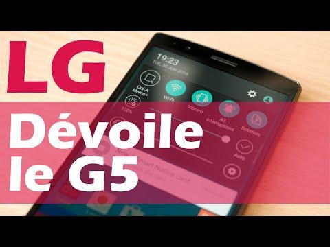 Le LG G5 sera présenté au Mobile World Congress à Barcelone