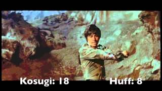 9 Deaths of the Ninja (1985) Sho Kosugi & Brent Huff killcount