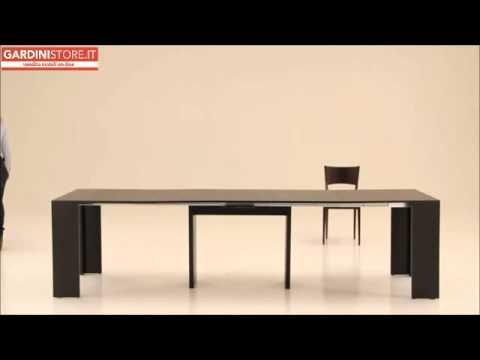 Tavolo consolle pinocchio gardinistore youtube for Pinocchio consolle