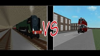 Roblox| Steam Age| The Race from Holsbury to Lesfield Central