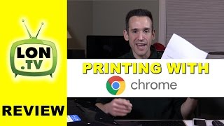 Printing on Google Chrome OS with Google Cloud Print(Buy it on Amazon - http://lon.tv/ribq4 (affiliate link) - Printing on Chrome OS is unfortunately not as simple as plugging in a printer. Here's how it works and what ..., 2015-12-11T02:57:57.000Z)