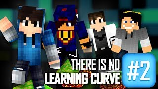 Minecraft: There's No Learning Curve 2 #02 w/ GamerSpace, Undecided, Tomek
