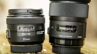 Canon 35mm f/2 IS VS Sigma 35mm f/1.4 Lens