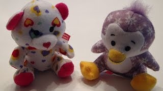 MCDONALDS 2013 HAPPY MEAL DECEMBER BUILD A BEAR WORKSHOP 3 & 4 DRIVE THRU TOY REVIEW VIDEO