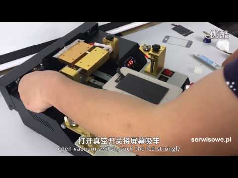 FULL AUTOMATIC LCD screen separator TBK-958A with delaminating function - how to use