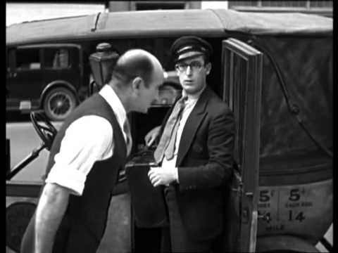 HAROLD LLOYD - Taxi experience in New York...