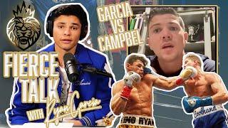 Ryan Garcia & Lขke Campbell's Post Fight Interview | ep 1. Fierce Talk Podcast with Ryan Garcia