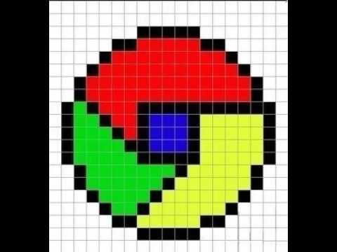 картинки гугл по клеточкам