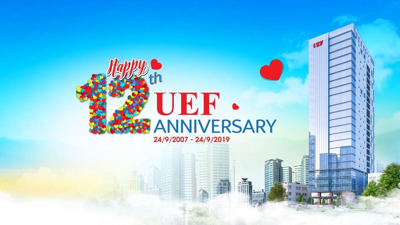 [UEF] Hành trình 12 năm vững bước, vươn xa