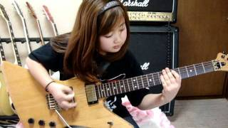 CRAZY DOCTOR  LOUDNESS 桜花9歳 ギター少女
