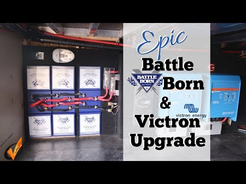 Epic Battle Born Batteries and Dual Victron Inverter Upgrade