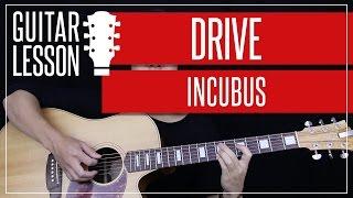 Drive Guitar Tutorial - Incubus Guitar Lesson 🎸  Solo + Chords + Guitar Cover 