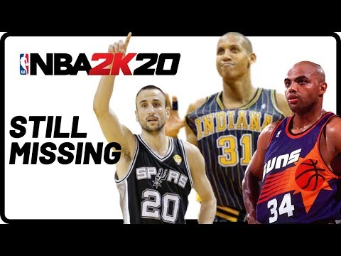 NBA 2K20 - 100 Legends Who Are Still Missing From The Game