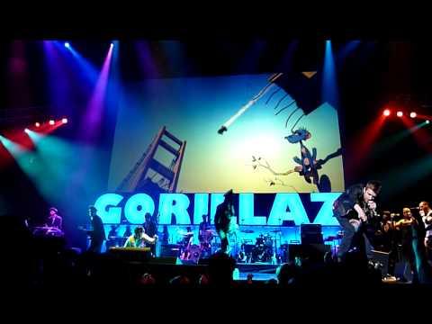 Gorillaz Live at The Key Arena in Seattle, Washington. 19-2000 November 2, 2010